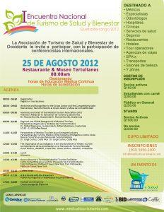 I Encuentro Nacional Turismo Medico Guatemala 2012